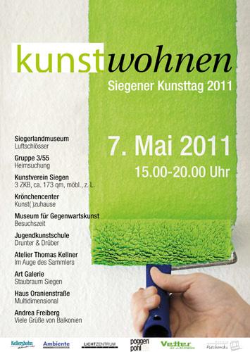 Siegener Kunsttag Kunstwohnen 2011