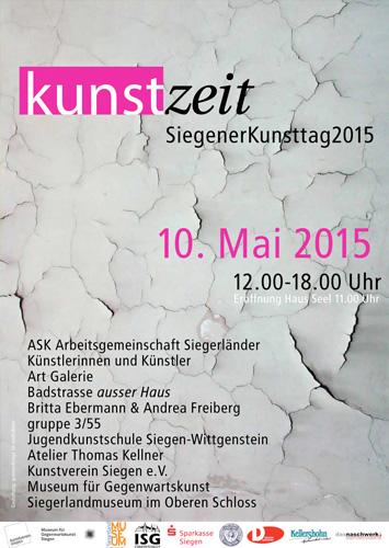 Siegener Kunsttag 2015 KUNSTzeit