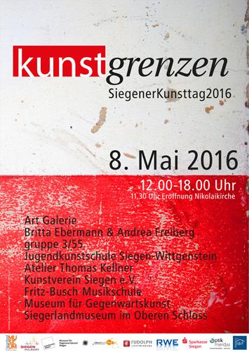 Siegener Kunsttag 2016 KUNSTgrenzen