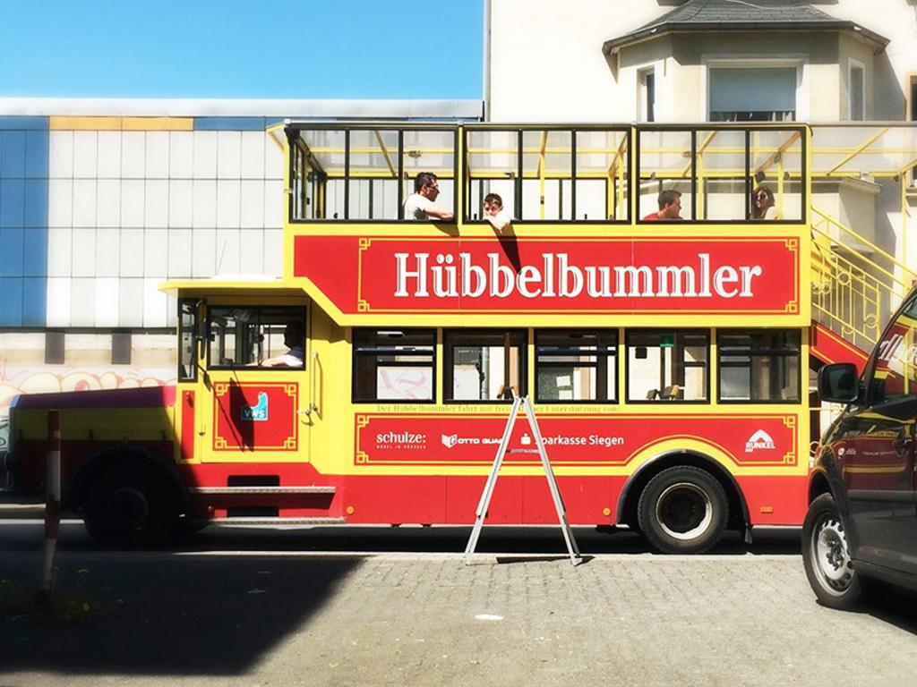 Siegener Kunsttag 2016 KUNSTgrenzen Hubbelbummler