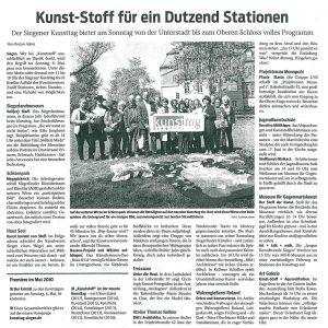 Kunsttag 2018 Kunststoff Westphalenpost